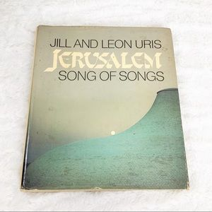 Jerusalem Song of Songs 1981 hardcover book